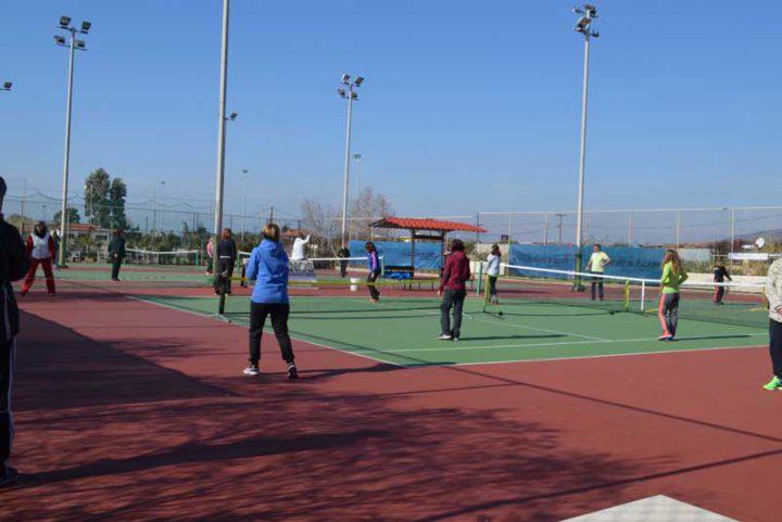 Ημερίδα Αντισφαίρισης για τους καθηγητές φυσικής αγωγής Μεσσηνίας