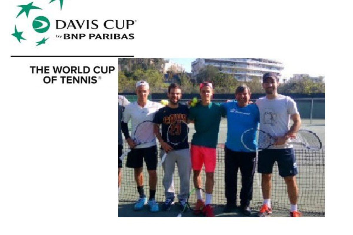 Με νίκες ξεκίνησε η Εθνική Ομάδα Αντισφαίρισης στο Davis Cup