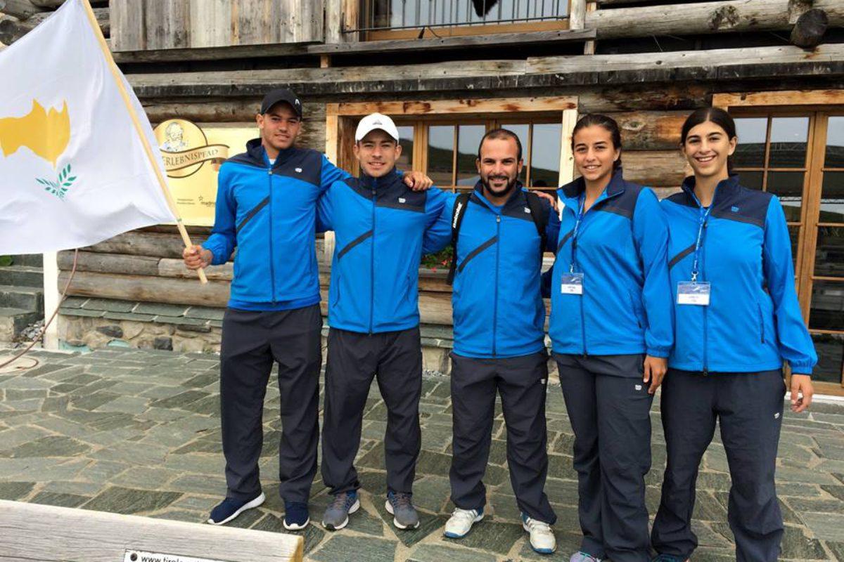 Οι αποστολές της Κύπρου στα Ευρωπαϊκά Πρωταθλήματα Juniors U14,U16,U18