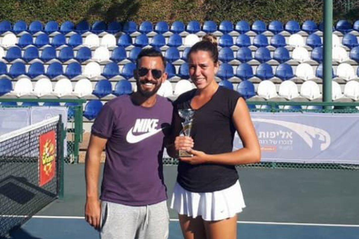 Η Αρκαδιανού, 2η θέση στο Matan Gafniel Raanana Open