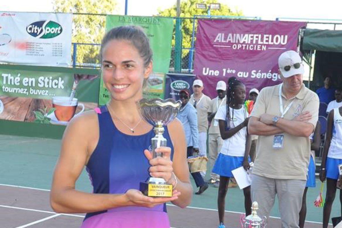 Η Γραμματικοπούλου πρωταθλήτρια στο Open Feminin de Dakar