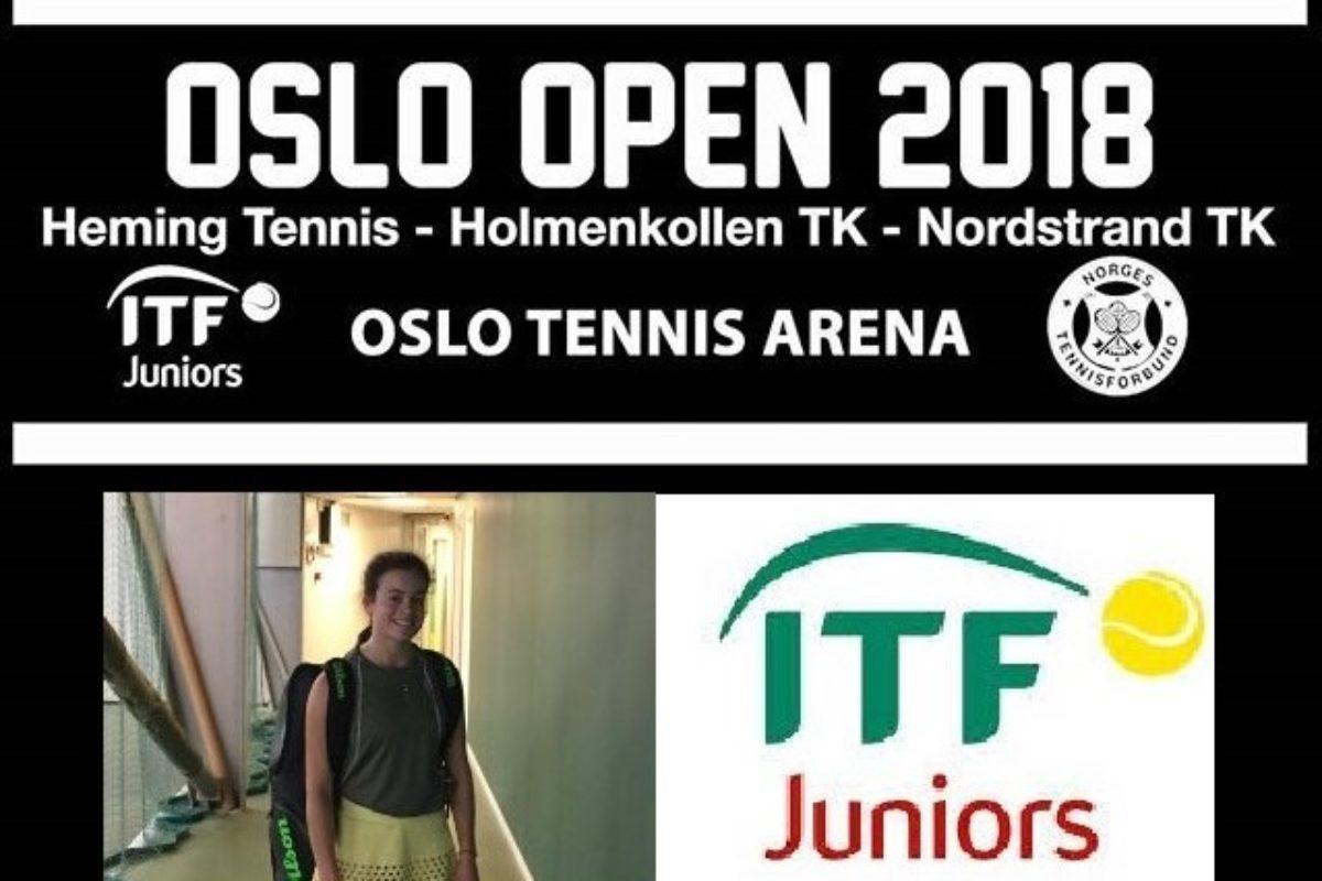 Η Κάλλιστρου μέχρι τα ημιτελικά του ITF Oslo Open