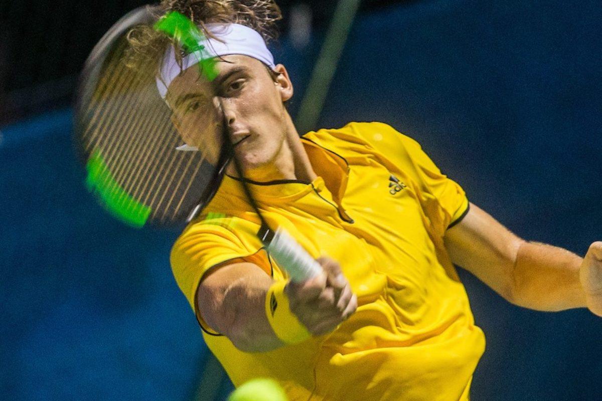 Ο Στέφανος στο BNP Paribas Open 2018