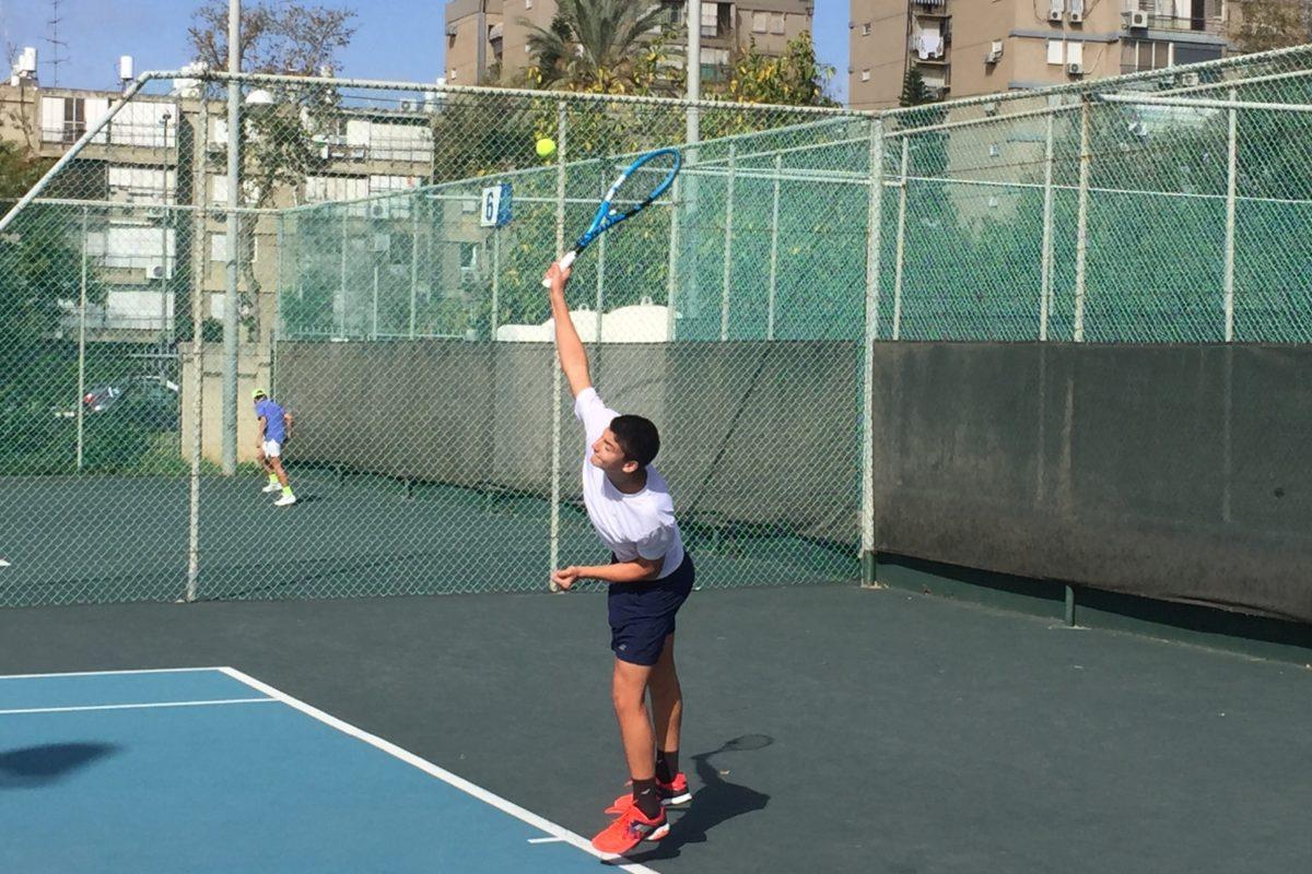 Ο Θοδωρής στον τελικό του Tel Aviv