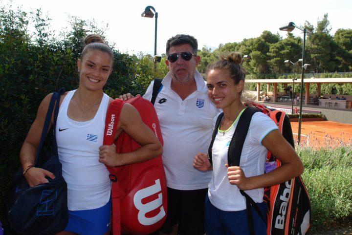 Fed Cup: Η Ελλάδα νίκησε και τη Δανία