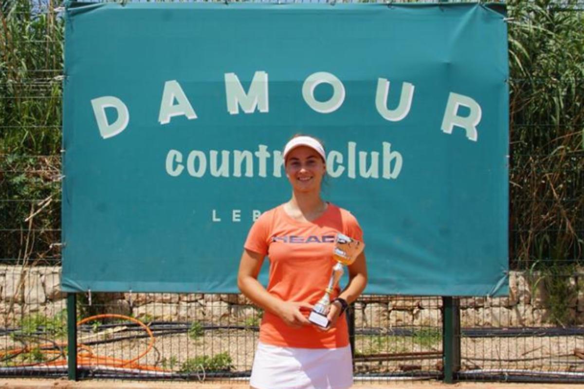 Η Χαραλαμπίδη πρωταθλήτρια στο Λίβανο