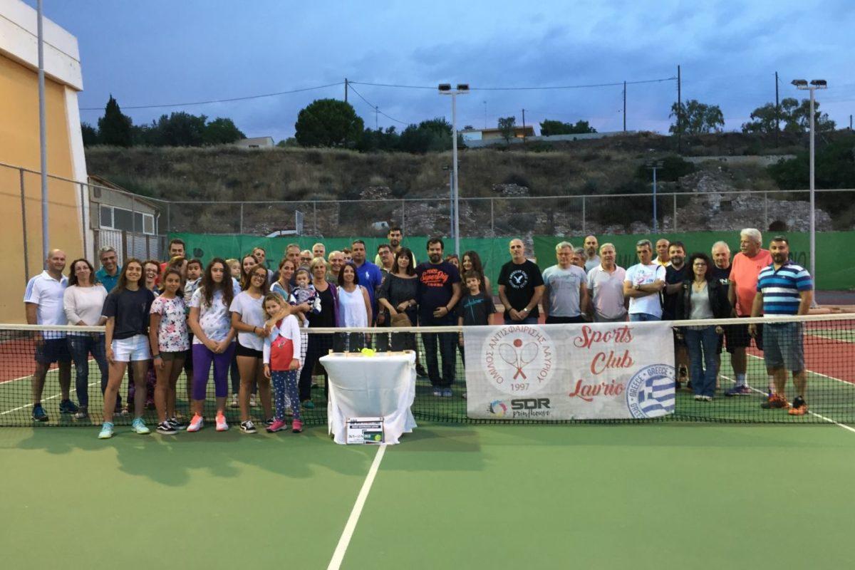 Ολοκληρώθηκε το 18ο Open Tennis Tournament Λαυρίου