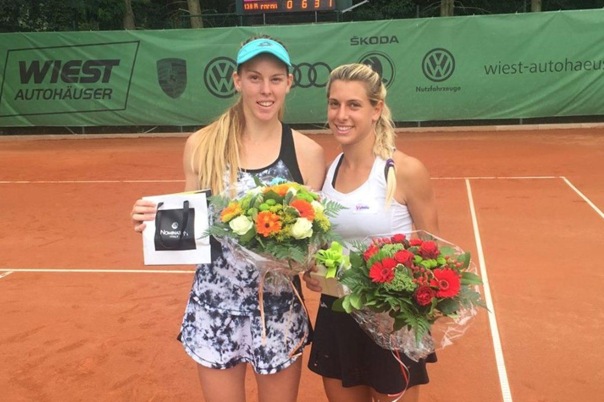 Η Δέσποινα πρωταθλήτρια στο διπλό, στο Darmstadt