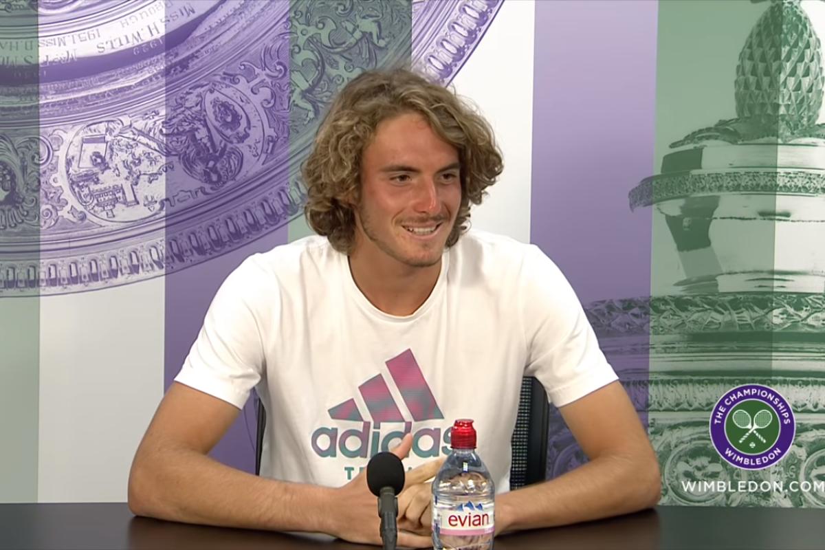 Ο Στέφανος στους 16 του Wimbledon (η συνέντευξη τύπου)