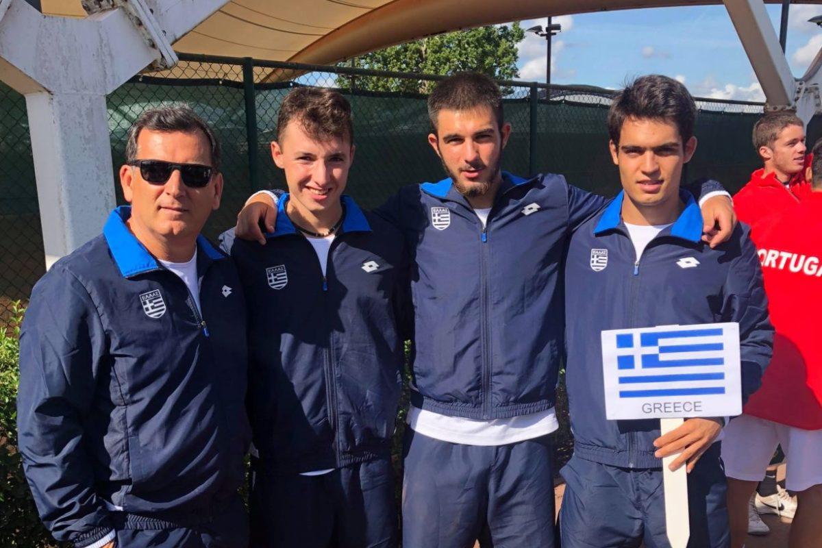 Πανευρωπαϊκό Ομαδικό Πρωτάθλημα Αντισφαίρισης U18 – Λονδίνο