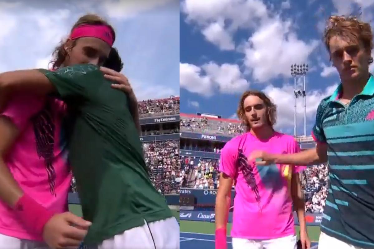 Οι διαφορετικές αντιδράσεις Djokovic και Zverev στην ήττα απο το Στέφανο