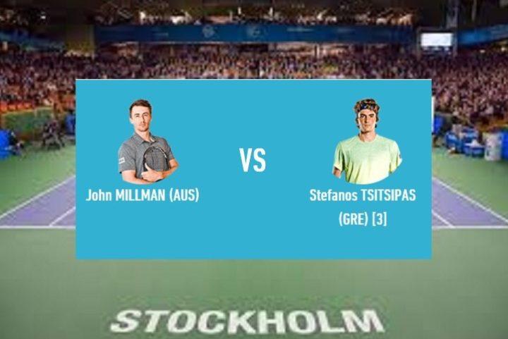 """<span class=""""hot"""">Νέο <i class=""""fa fa-bolt""""></i></span> Ο Τσιτσιπάς αντιμετωπίζει το Millman στη Στοκχόλμη"""