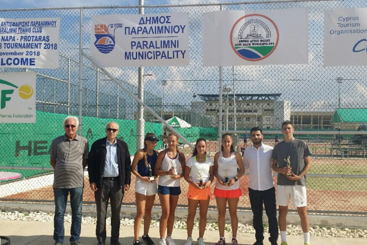 Αποτελέσματα Ayia Napa – Protaras Junior Tournament.