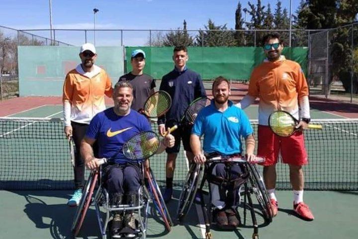 Ολοκληρώθηκε στη Λάρισα το 2ο wheelchair tennis camp