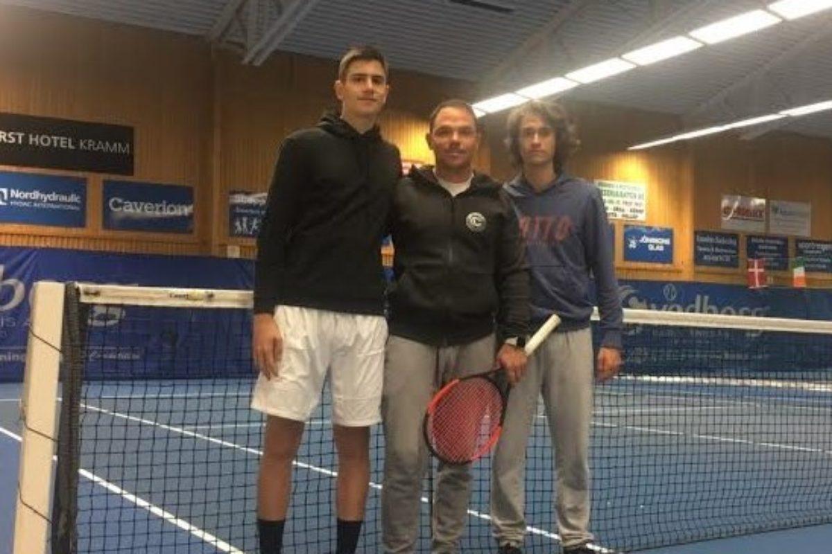 Θάνος και Τριανταφύλλου στο ITF Kramfors Junior Challenge