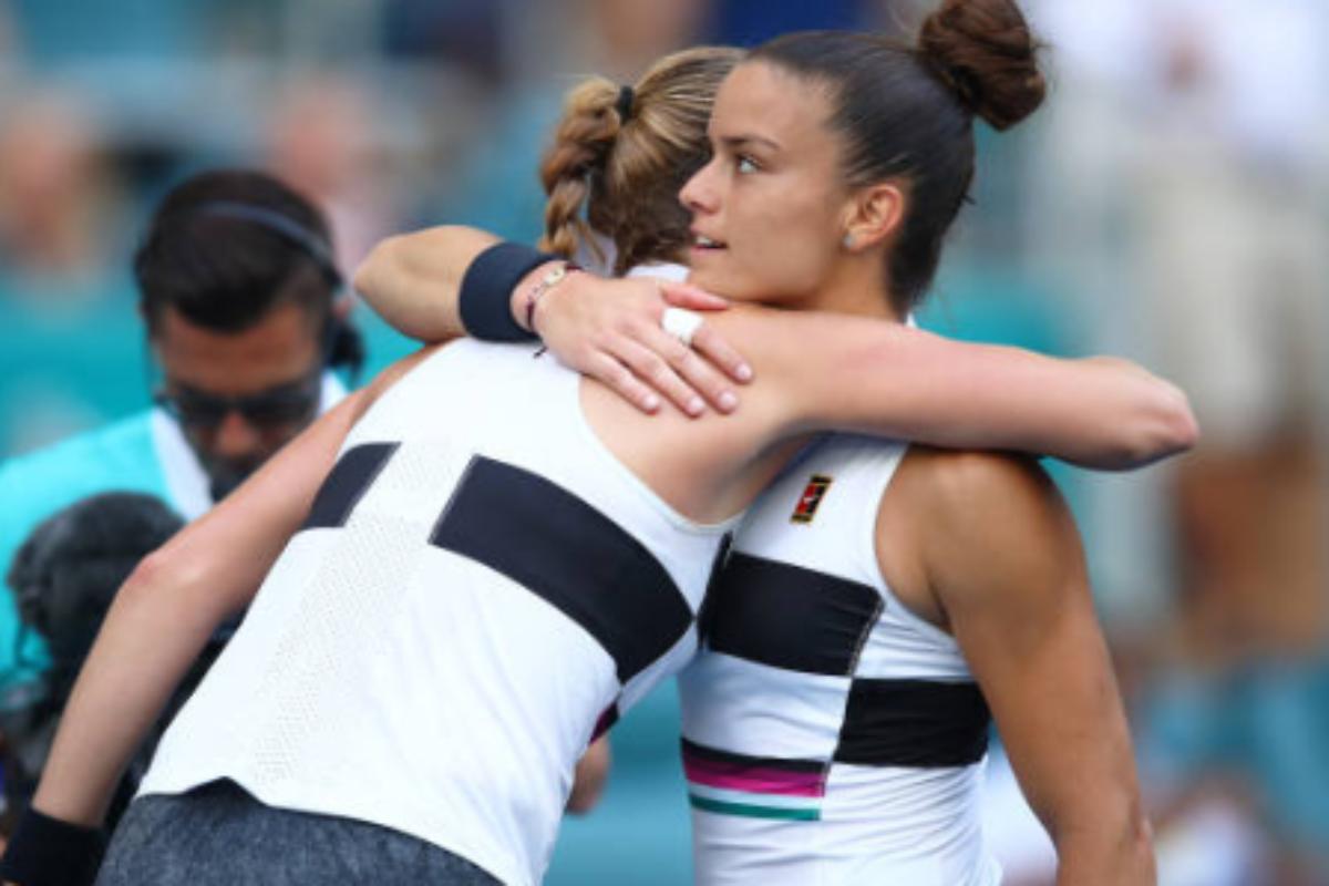 Η Kvitova απέκλεισε τη Σάκκαρη στο 2ο γύρο του Miami Open