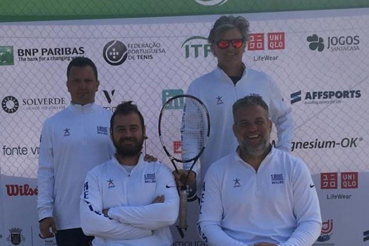 Η Εθνική Tennis με αμαξίδιο στον τελικό