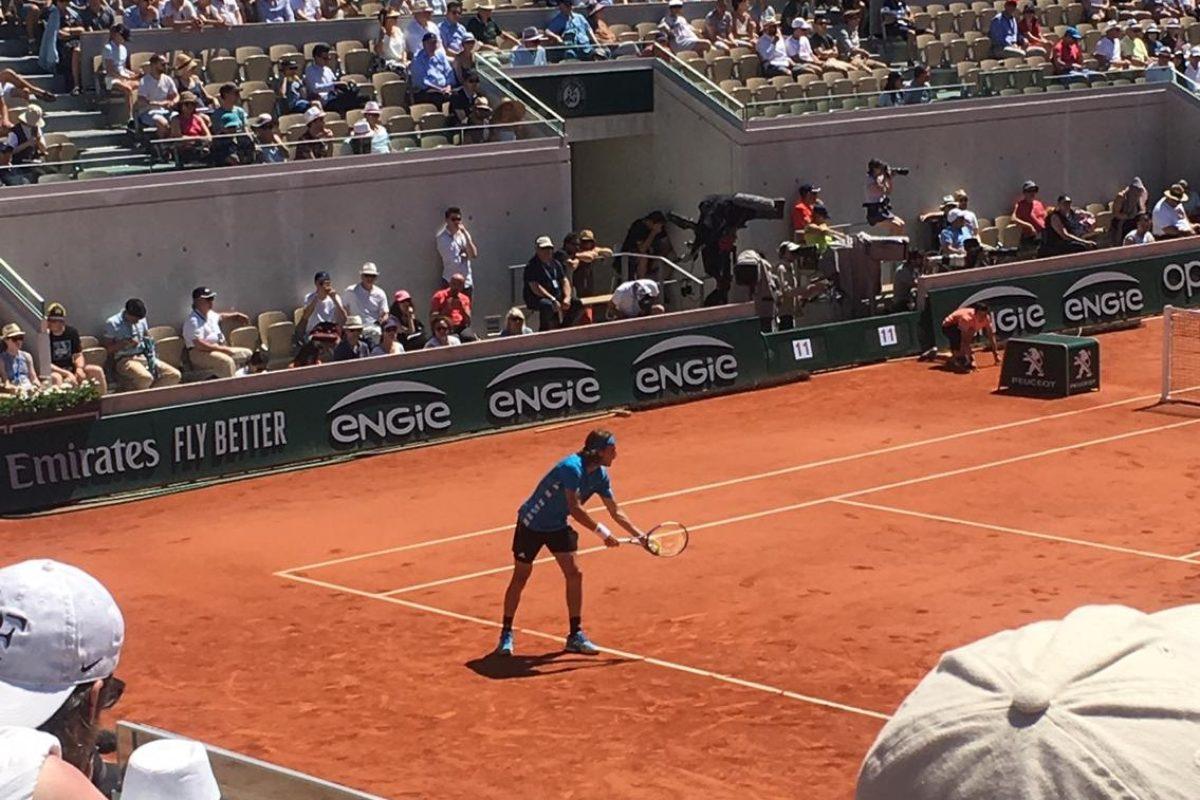 Ο Στέφανος λύγισε μετά απο 5 ώρες, στον 4ο γύρο του Roland Garros