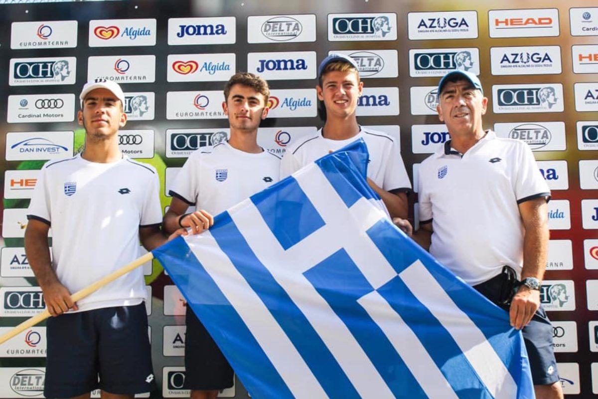 Μεγάλη επιτυχία της Εθνικής Ομάδας Αντισφαίρισης Α16. Πρόκριση στον τελικό των European Summer Cups