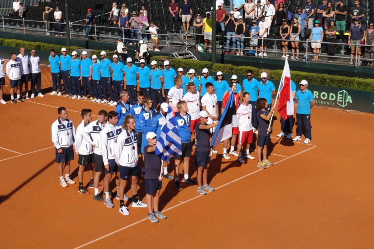 Με νίκη της Εθνικής ολοκληρώθηκε η διοργάνωση Davis Cup