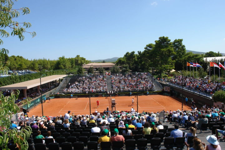 Davis Cup: Μια γιορτή του tennis στο Tatoi Club