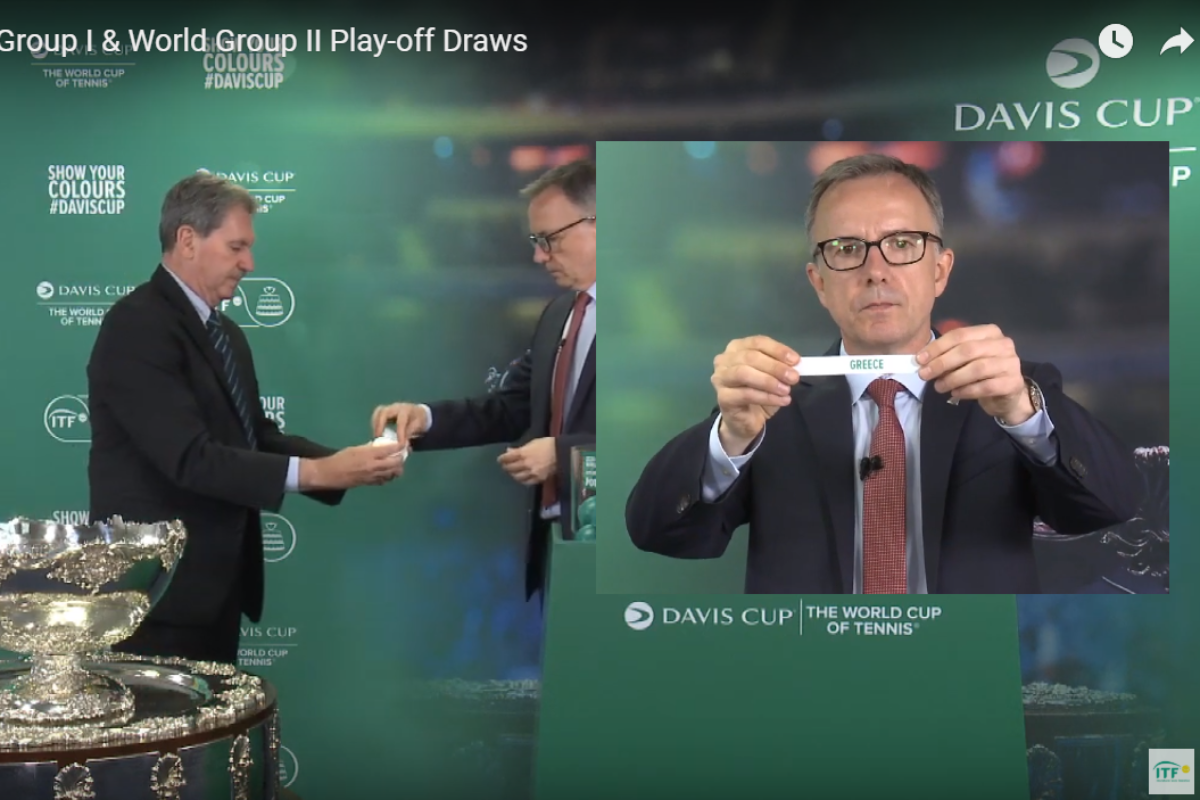 Davis Cup. Έγινε η κλήρωση για τα Play off του Μαρτίου (video)