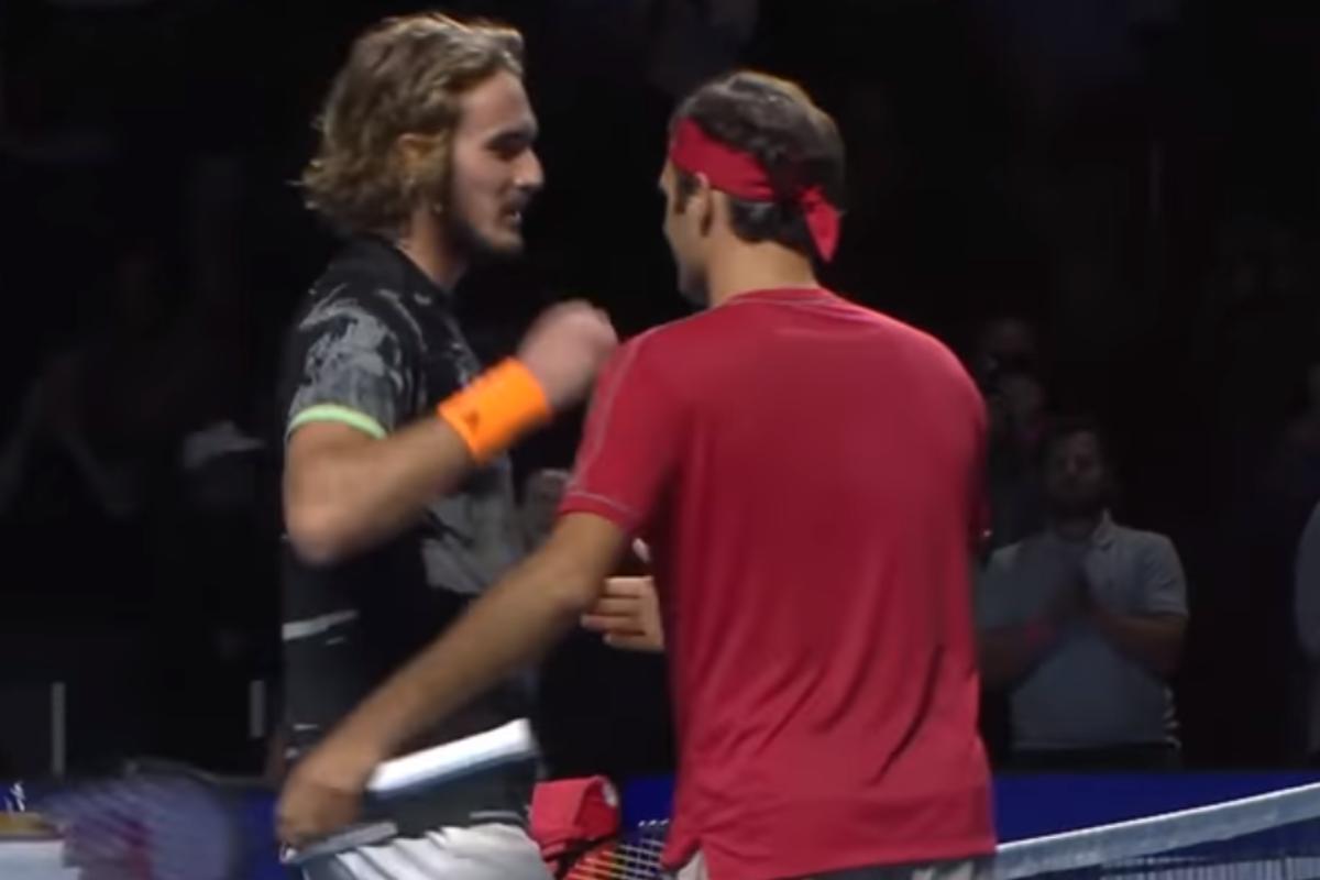 Ο Federer σταμάτησε τον Τσιτσιπά στη Βασιλεία (highlights)
