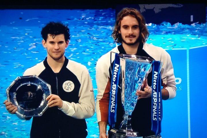 O Στέφανος Τσιτσιπάς πρωταθλητής του Nitto ATP Finals