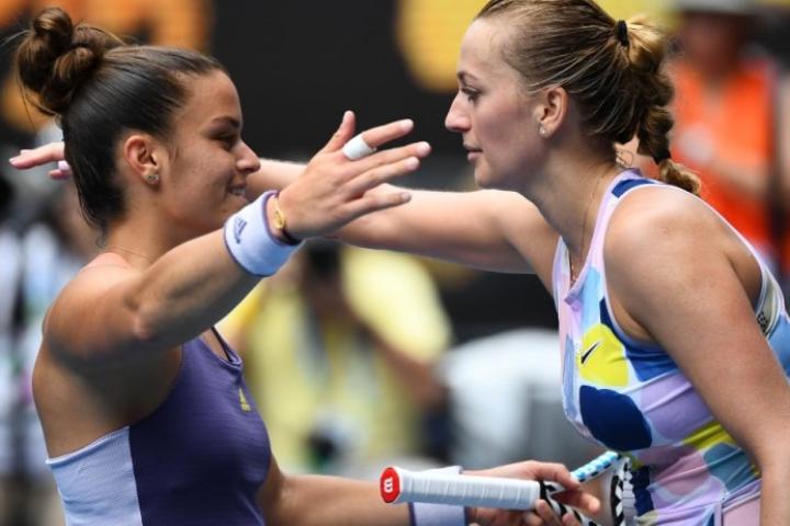 Η Kvitova σταμάτησε τη Μαρία