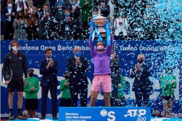 Ο Στέφανος διεκδίκησε τον τίτλο του Barcelona Open