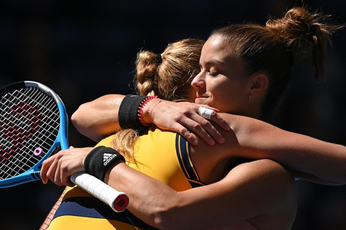 Η Μαρία Σάκκαρη στα ημιτελικά του US Open